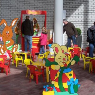 Foto van Paasland 1 - met Paashazen   Attractiepret.nl