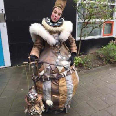 Fotoalbum van De Nar en Harlekijn - Straattheater | Attractiepret.nl