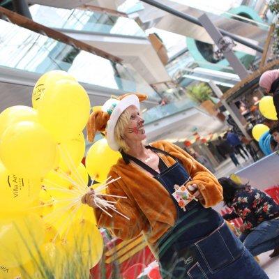 Foto van Paashazen Ballonnenstand | Attractiepret.nl