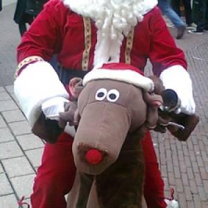 Rudolph & Santa inzetten?