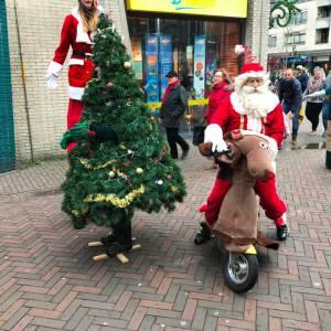 Rudolph & Santa inzetten of boeken?