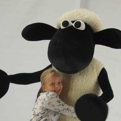 Shaun het Schaap meet and greet