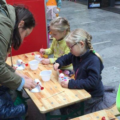 Inhuren van Kids Workshop Paasei Schilderen