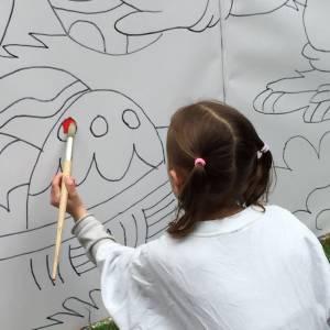 Kunst 4 Kids met Paastekening inzetten of boeken?