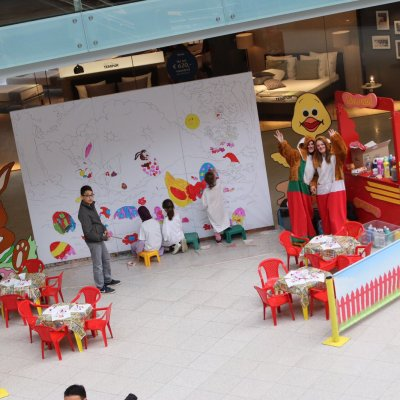 Foto van Kunst 4 Kids met Paastekening | Attractiepret.nl