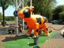 Foto van Ranja Koe - Oranje | SintenKerst.nl