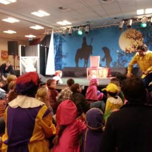 Sinterklaasshow Welkom Sinterklaas boeken of inhuren