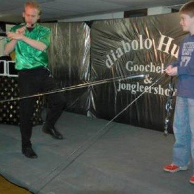 Fotoalbum van Diabolo Huub Kindershow | Kindershows.nl