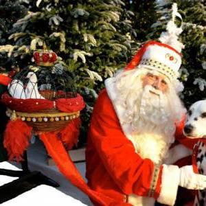De Kerstman en zijn Vredesduiven boeken of inhuren?