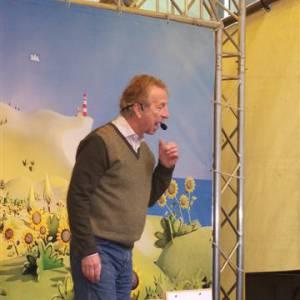 Presentator Bob de Bouwer Kindershow