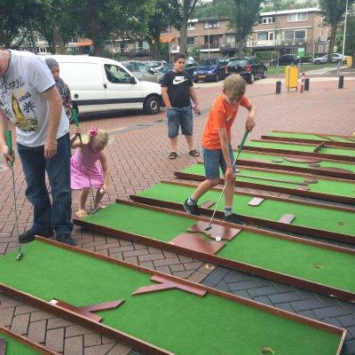 Fotoalbum van Minigolfbanen op locatie | Attractiepret.nl