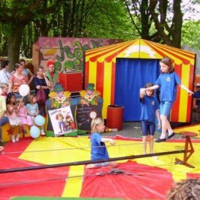 Foto van De Circusschool met Clown Annapiponia | Kindershows.nl