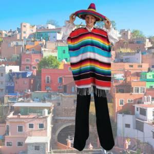 2 Steltlopers - Mexicanen Boeken of Inhuren?