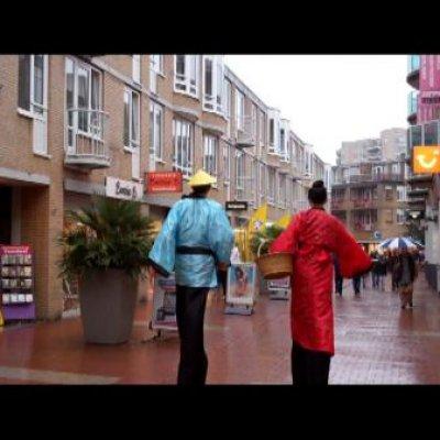 Foto van 2 Steltlopers - Chinees | Attractiepret.nl