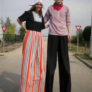 2 Steltlopers - Boer & Boerin inhuren?