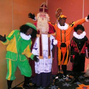 Pieten Roadshow - inclusief bezoek Sinterklaas inhuren