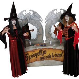 Schminkstand - Sprookjes en Halloween boeken