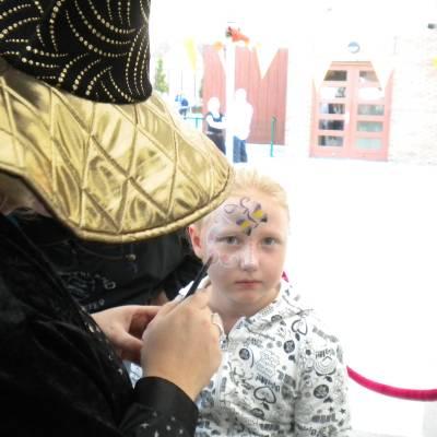 Schminkstand - Sprookjes en Halloween inhuren