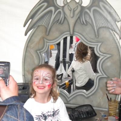 Schminkstand - Sprookjes en Halloween boeken of huren