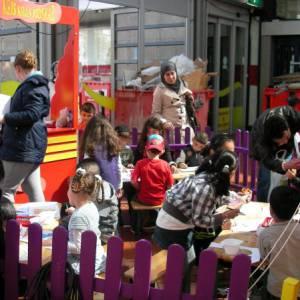 Kids Workshop Moederdag Deurhanger maken inzetten of boeken?