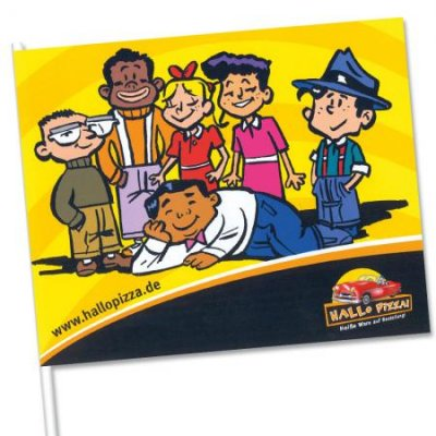 Fotoalbum van Een, twee, drie, vier ... vlaggetjes van papier | Kindershows.nl