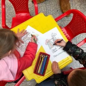 Kids Workshop Paas Kleuren boeken of inhuren?