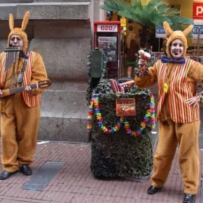 Fotoalbum van Los del Sol - Zingende Paashazen | Attractiepret.nl