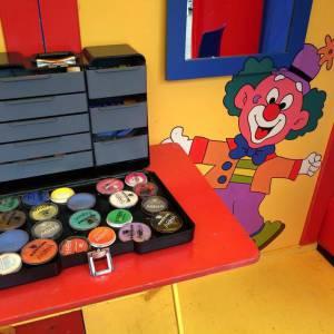 Clowns Schminkstand huren