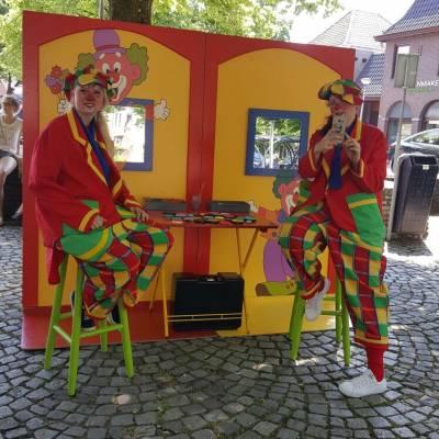 Kinderen schminken - de Clowns Schminkstand huren