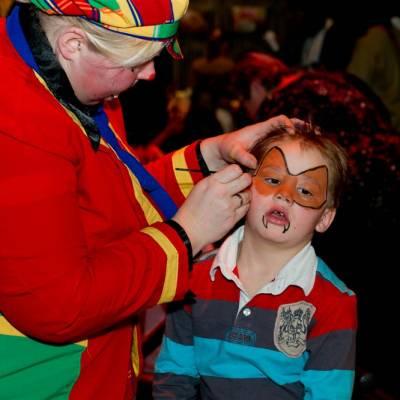Clowns Schminkstand inhuren