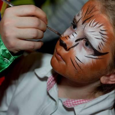 Kinderen schminken - de Clowns Schminkstand boeken