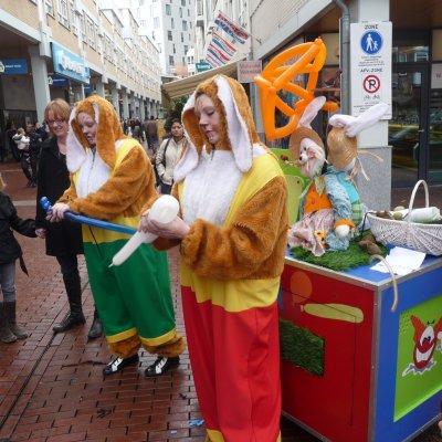 Fotoalbum van Paashazen Surprise Car | Attractiepret.nl