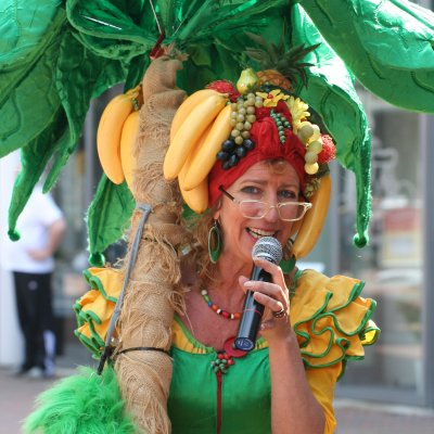 Tropical Lady - Mobiel Muzikaal Entertainment inzetten