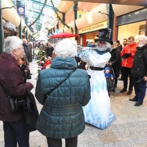 Mobiele Sneeuwpop met muziek inhuren