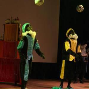 De Urban Pietenshow van Sinterklaas inhuren