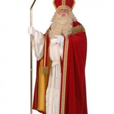 Foto van Luxe Sinterklaas Kostuum | SintenKerst