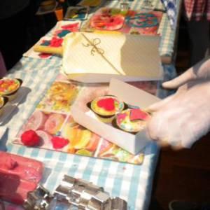 Cupcakes versieren Kids Workshop huren