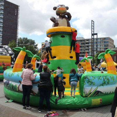Fotoalbum van Jungle Climb de Tropische klimtoren | Kindershows.nl
