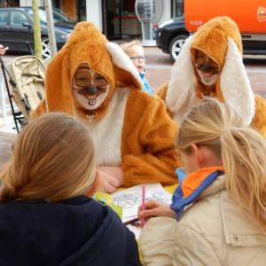 Kids Workshop Paashaas Knutselterras inzetten of boeken?