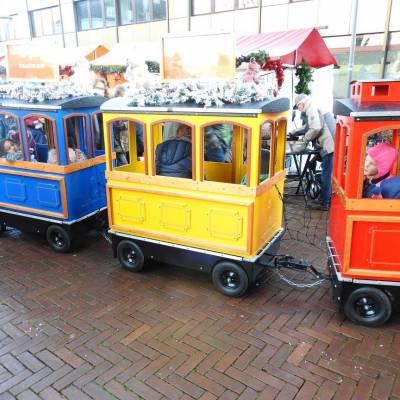 Fotoalbum van Treintje huren - De JB Express | Attractiepret.nl
