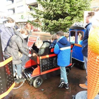 Fotoalbum van Treintje huren - De JB Express | Kindershows.nl