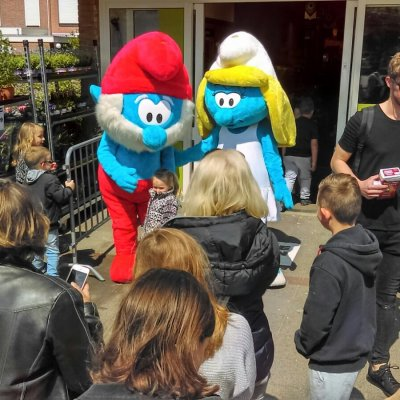 Foto van Meet & Greet De Smurfen | Artiestenbureau JB Productions