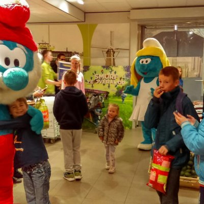 Fotoalbum van Meet & Greet De Smurfen | Looppop.nl