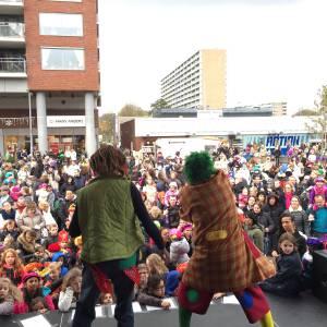 Sinterklaasfeest met Clown Jopie en Tante Angelique