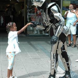 Robotact Mr. Universe the Robotman boeken?