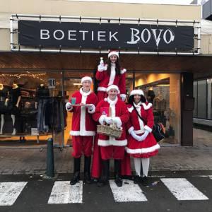 Het Te Gekke Kerst Team - 4 personen inhuren