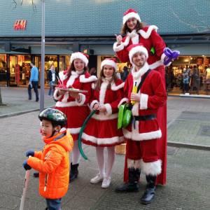 Te Gekke Kerst Team - 4 personen inhuren?