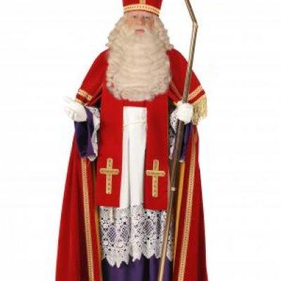 Foto van Luxe TV Sinterklaas Kostuum | Sint en Kerst