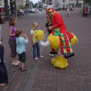 Gerritje Grijpgraag en Clown Dompie boeken