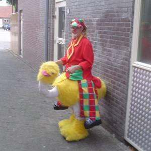 Gerritje Grijpgraag en Dompie de Clown